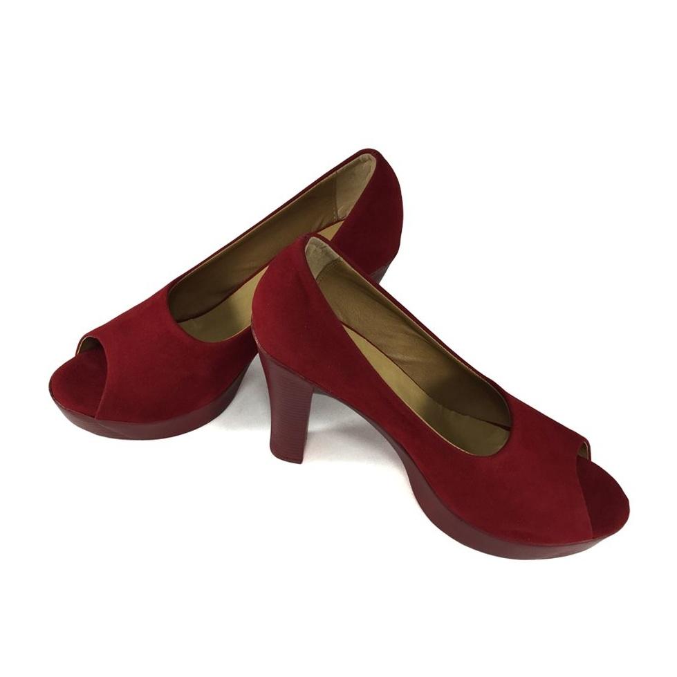 کفش نه تی اف لِدر مدل B500 رنگ قرمز