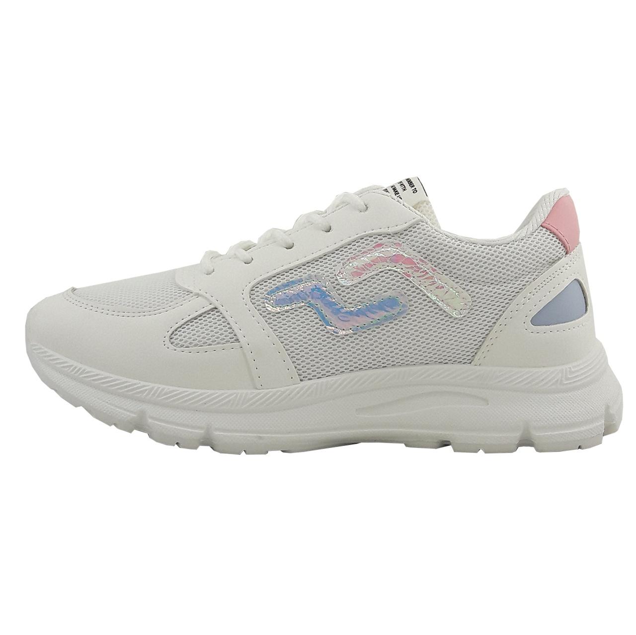 کفش مخصوص پیاده روی زنانه مدل Hologram wh.pnk-01
