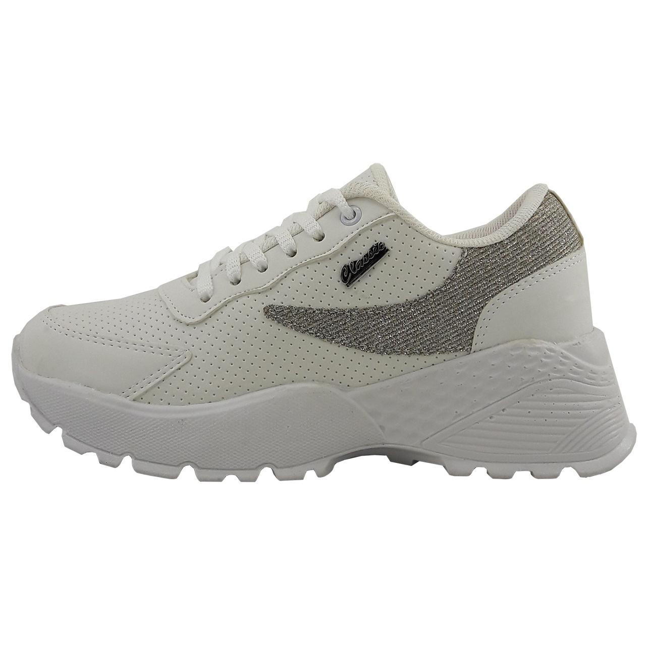 کفش راحتی زنانه مدل Gl.jh.wh.gld-01