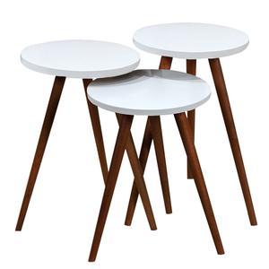 میز عسلی مدل 456 کد 04 مجموعه 3 عددی