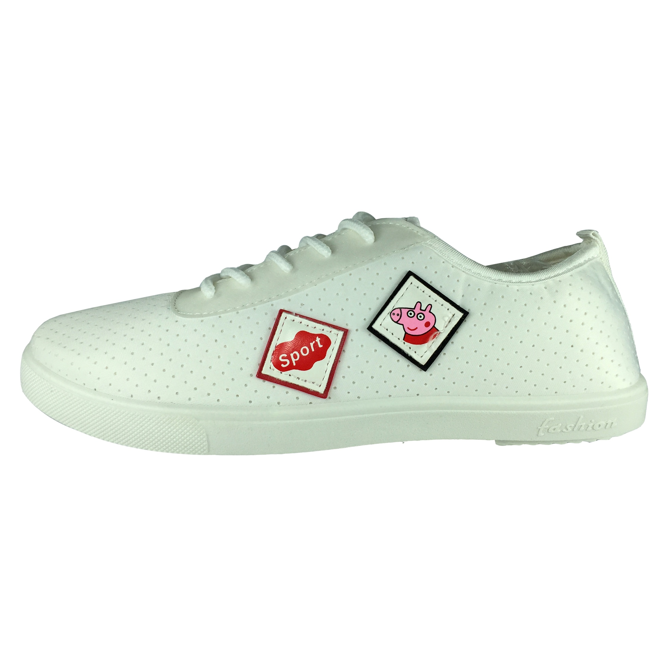 کفش راحتی زنانه مدل B529 رنگ سفید
