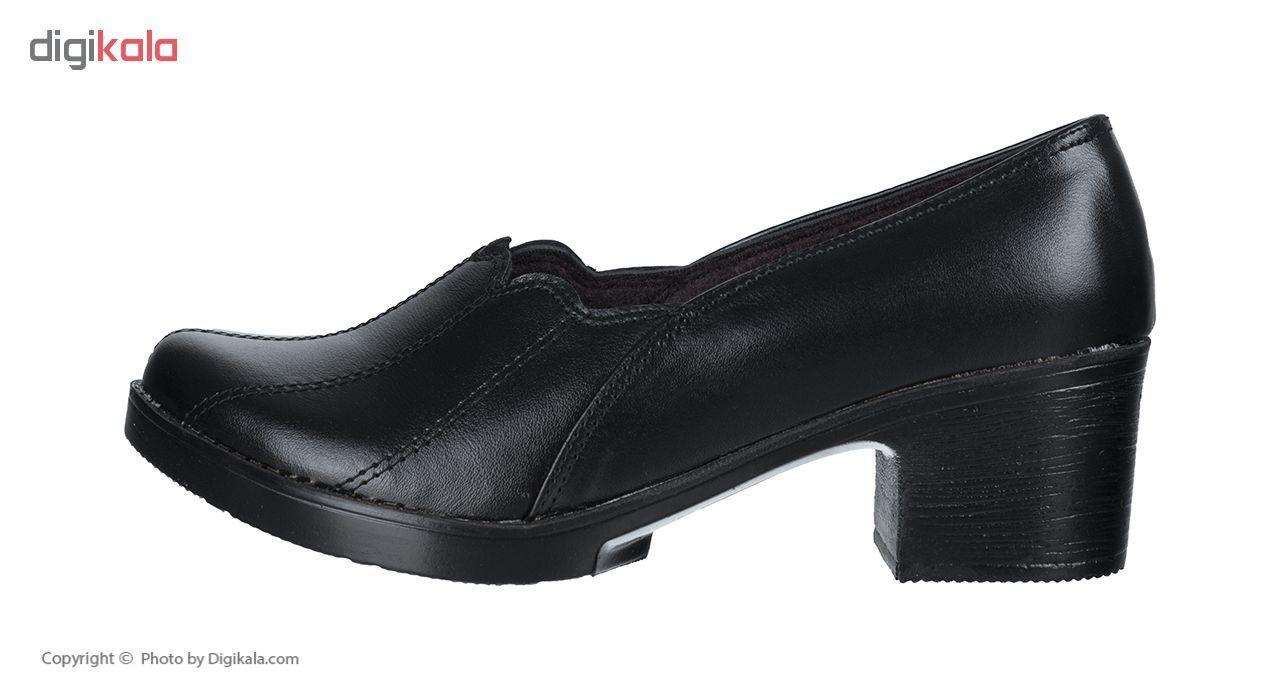 کفش زنانه طبی سینا مدل خورشیدی کد 326 رنگ مشکی main 1 1