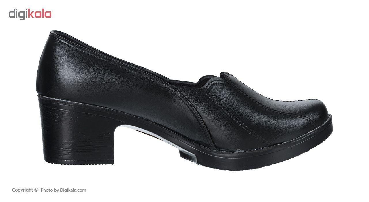 کفش زنانه طبی سینا مدل خورشیدی کد 326 رنگ مشکی main 1 2