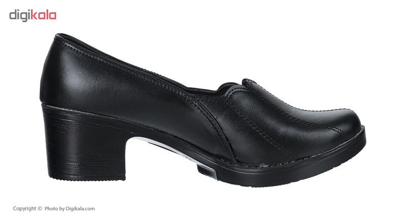 کفش زنانه سینا مدل خورشیدی کد 326 رنگ مشکی