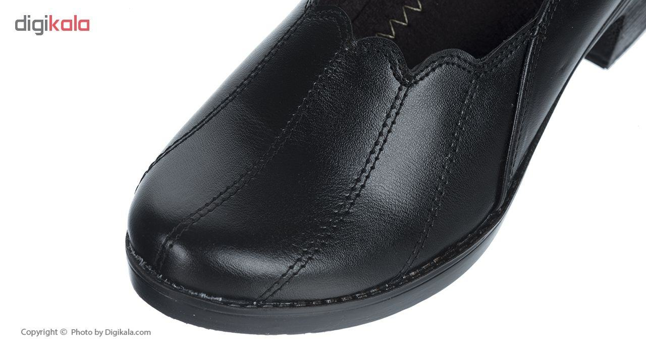 کفش زنانه طبی سینا مدل خورشیدی کد 326 رنگ مشکی main 1 6