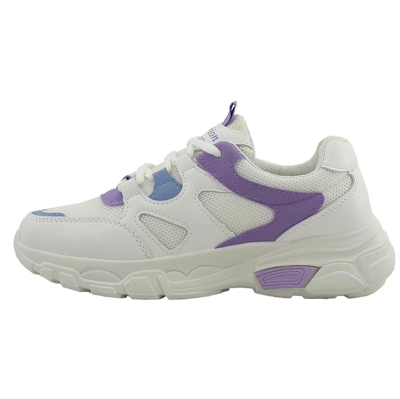 کفش مخصوص پیاده روی زنانه فشن مدل s.8.wh.prp-01