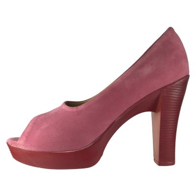 تصویر کفش زنانه تی اف لِدر مدل B501 رنگ صورتی