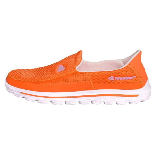 کفش مخصوص پیاده روی زنانه پرفکت استپس مدل اسکای کد 2970 رنگ نارنجی