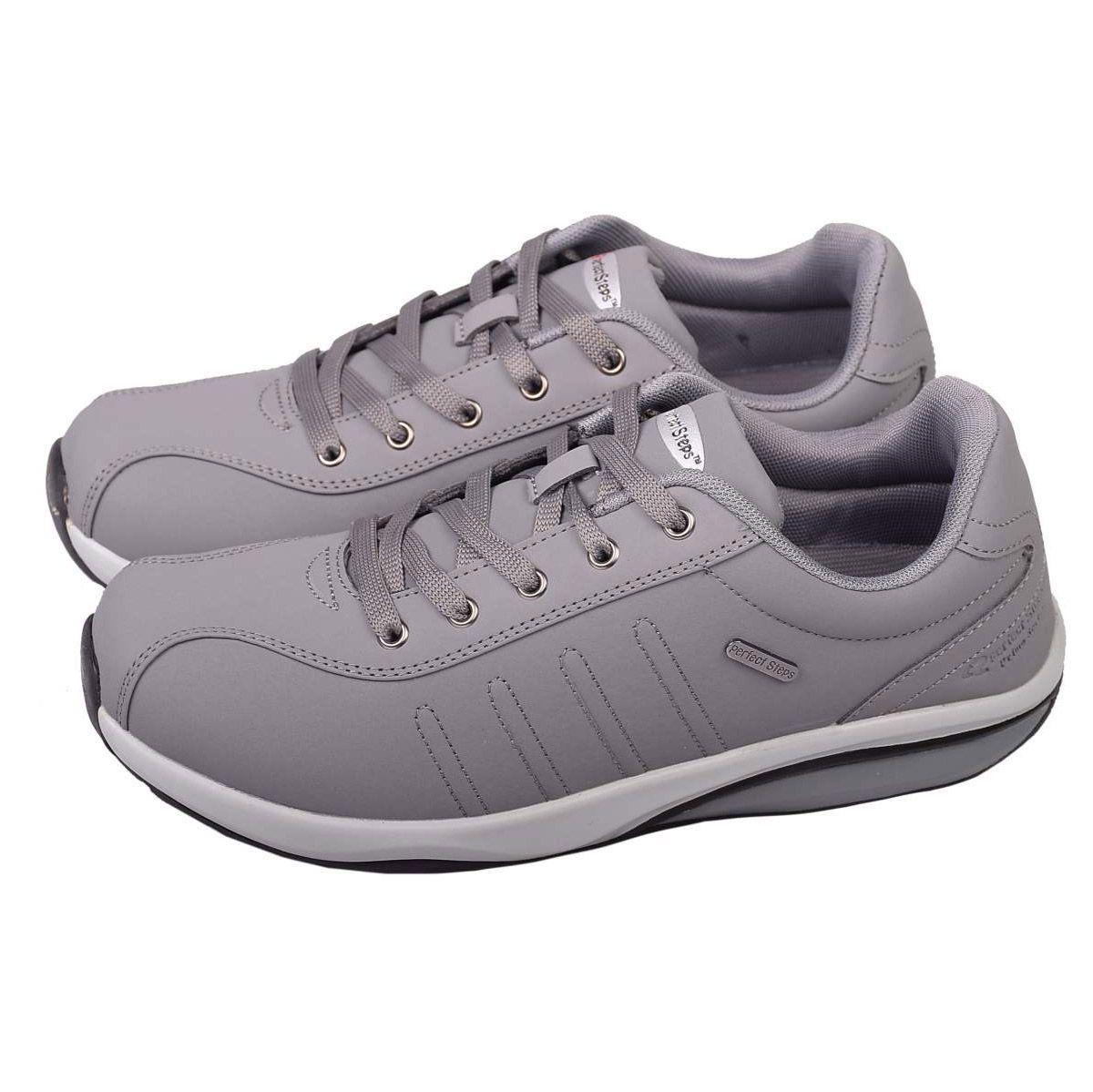 کفش مخصوص پیاده روی زنانه پرفکت استپس مدل پریمو رنگ طوسی -  - 3