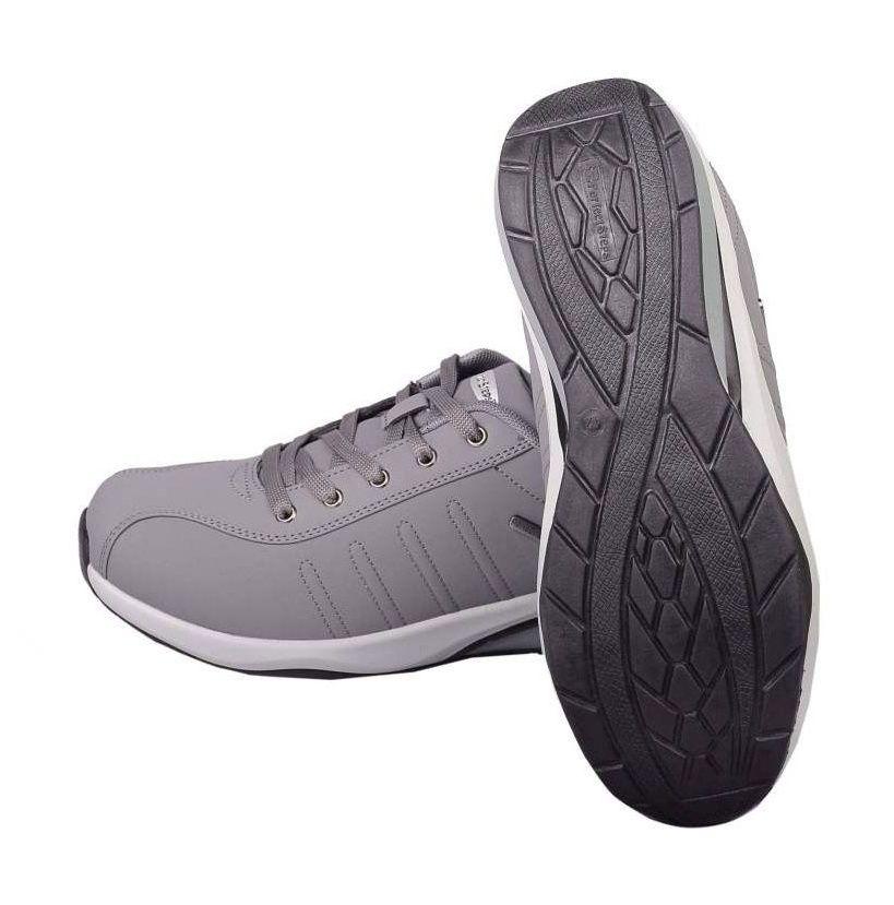 کفش مخصوص پیاده روی زنانه پرفکت استپس مدل پریمو رنگ طوسی -  - 4