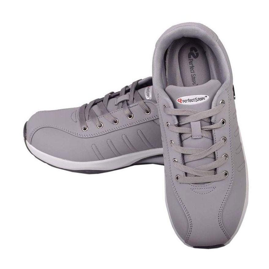 کفش مخصوص پیاده روی زنانه پرفکت استپس مدل پریمو رنگ طوسی -  - 5