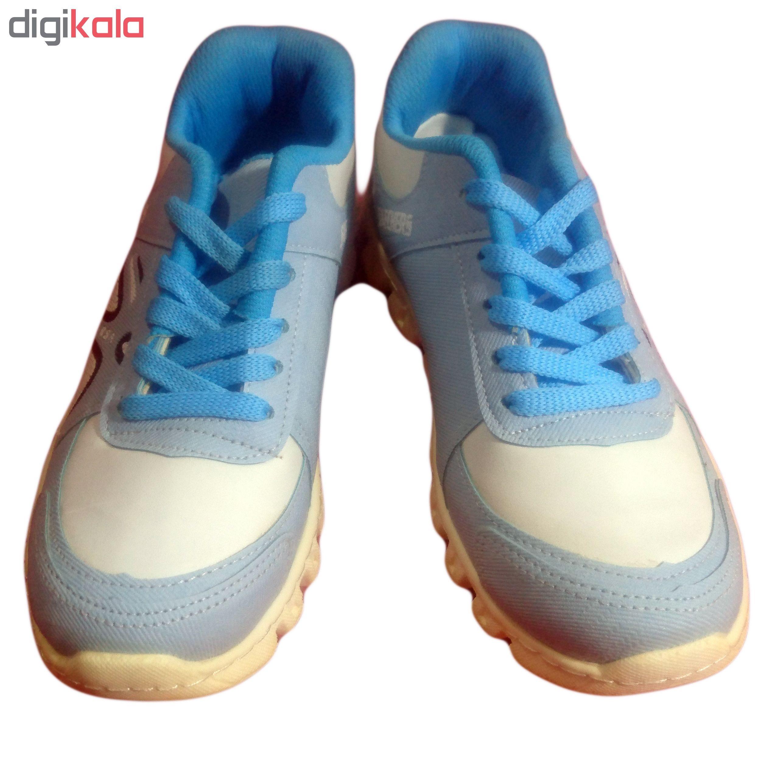 كفش مخصوص دويدن نه اسكچرز مدل go walk blue