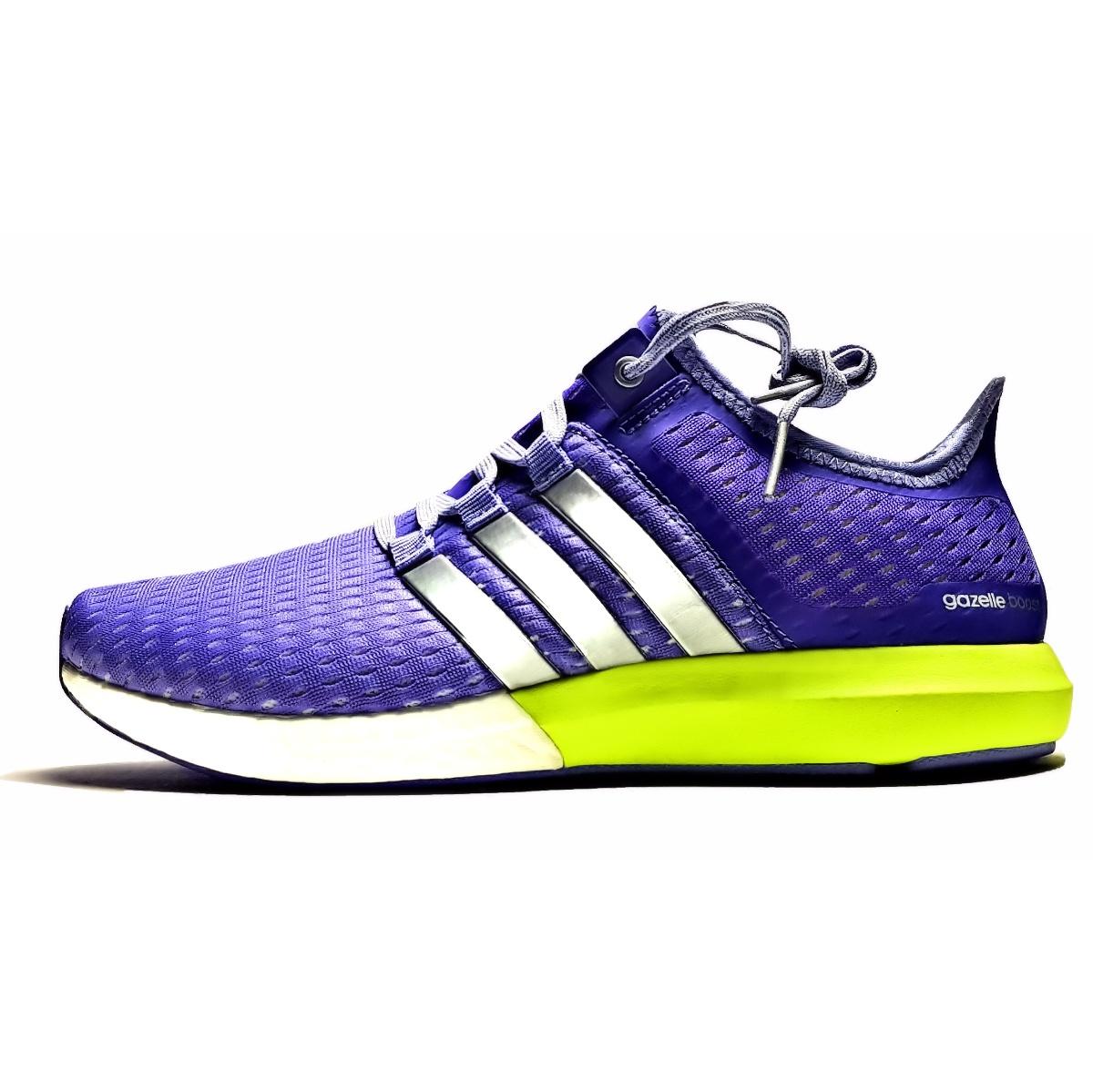 کفش مخصوص پیاده روی مدل Gazelle Boost Purple S77248
