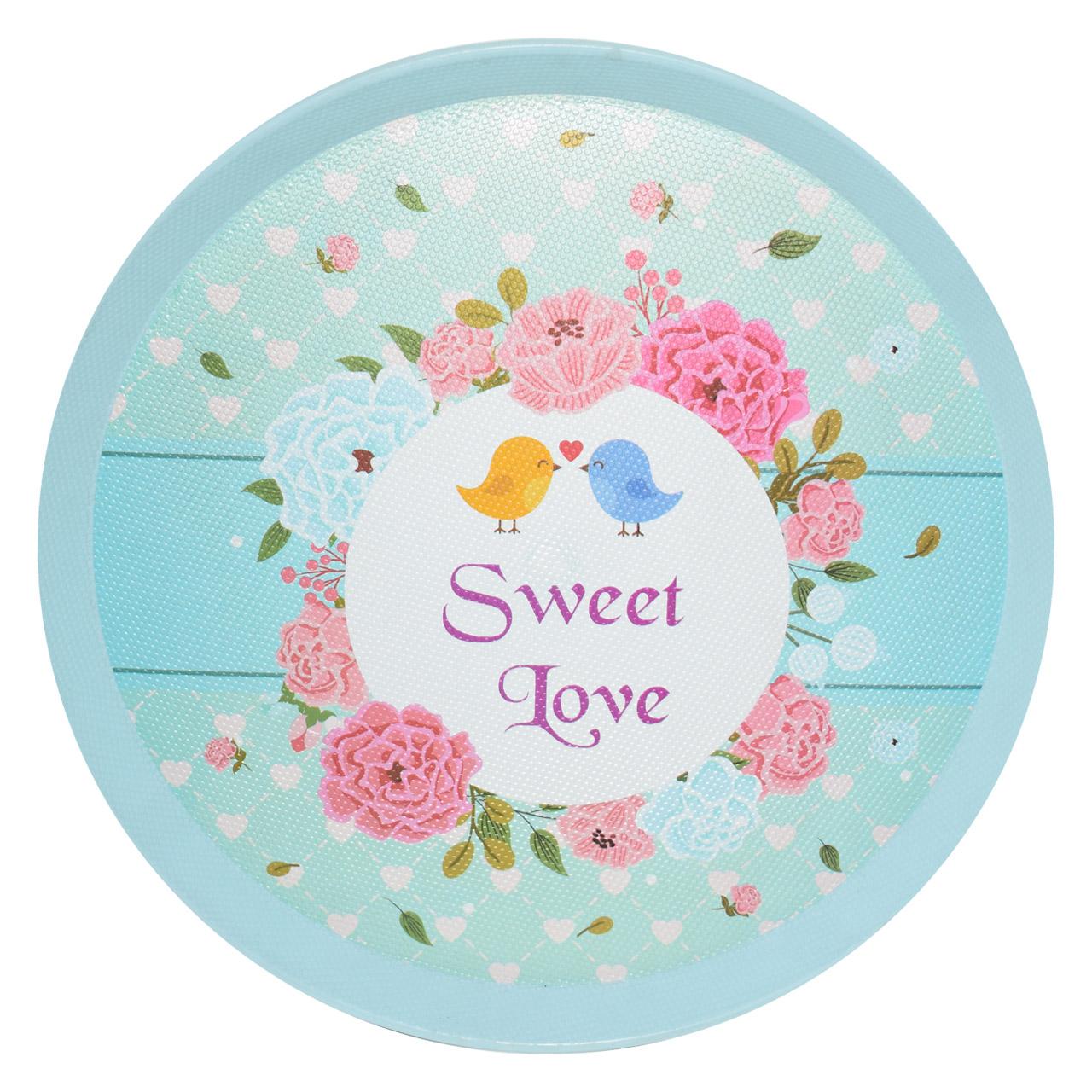 عکس سینی طرح Sweet Love کد 35