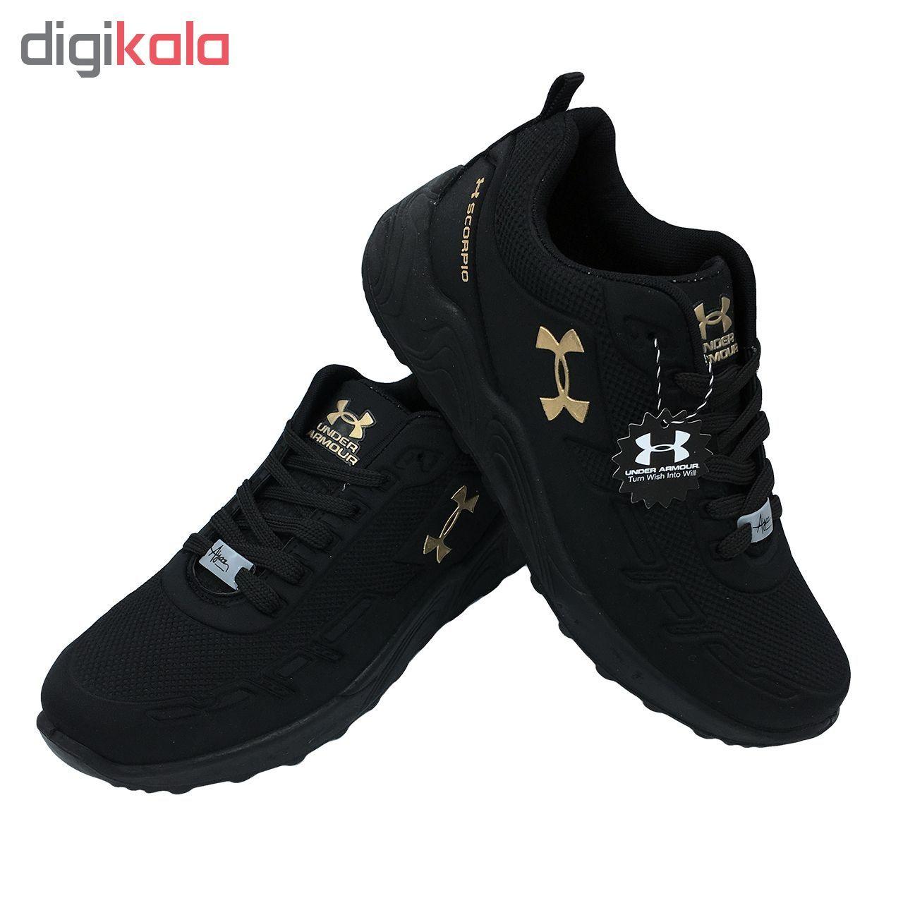 کفش مخصوص پیاده روی  زنانه مدل az-zn رنگ مشکی  main 1 3