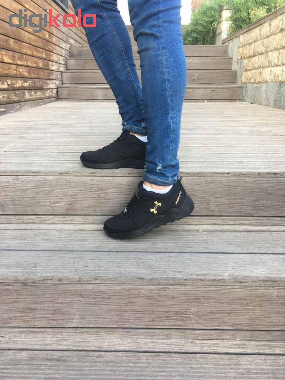 کفش مخصوص پیاده روی  زنانه مدل az-zn رنگ مشکی  main 1 5