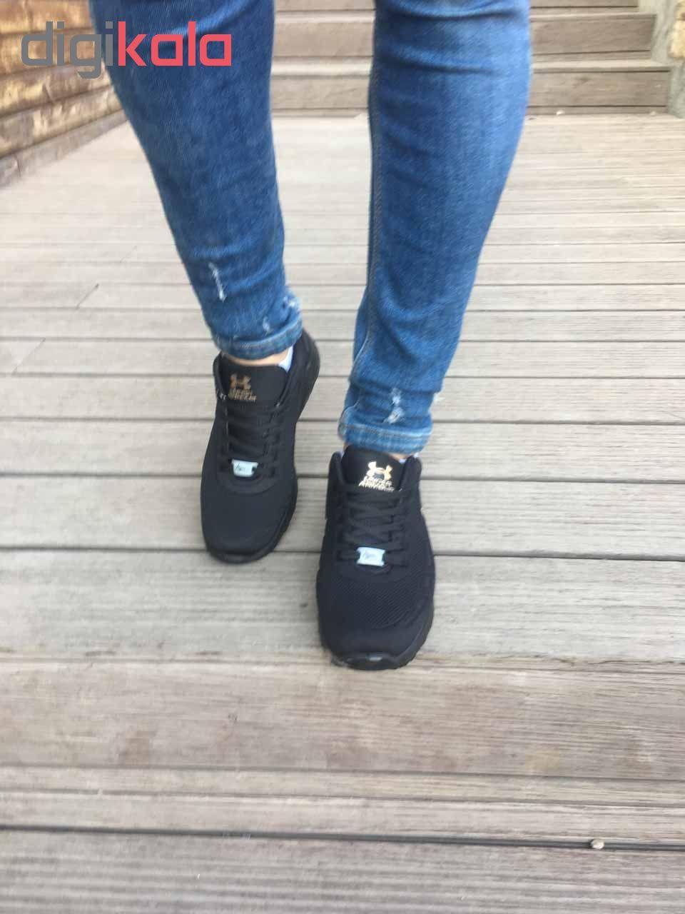 کفش مخصوص پیاده روی  زنانه مدل az-zn رنگ مشکی  main 1 6