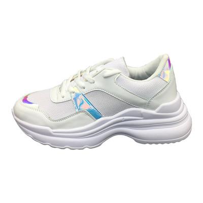 تصویر کفش مخصوص پیاده روی زنانه مدل ho 25 رنگ سفید