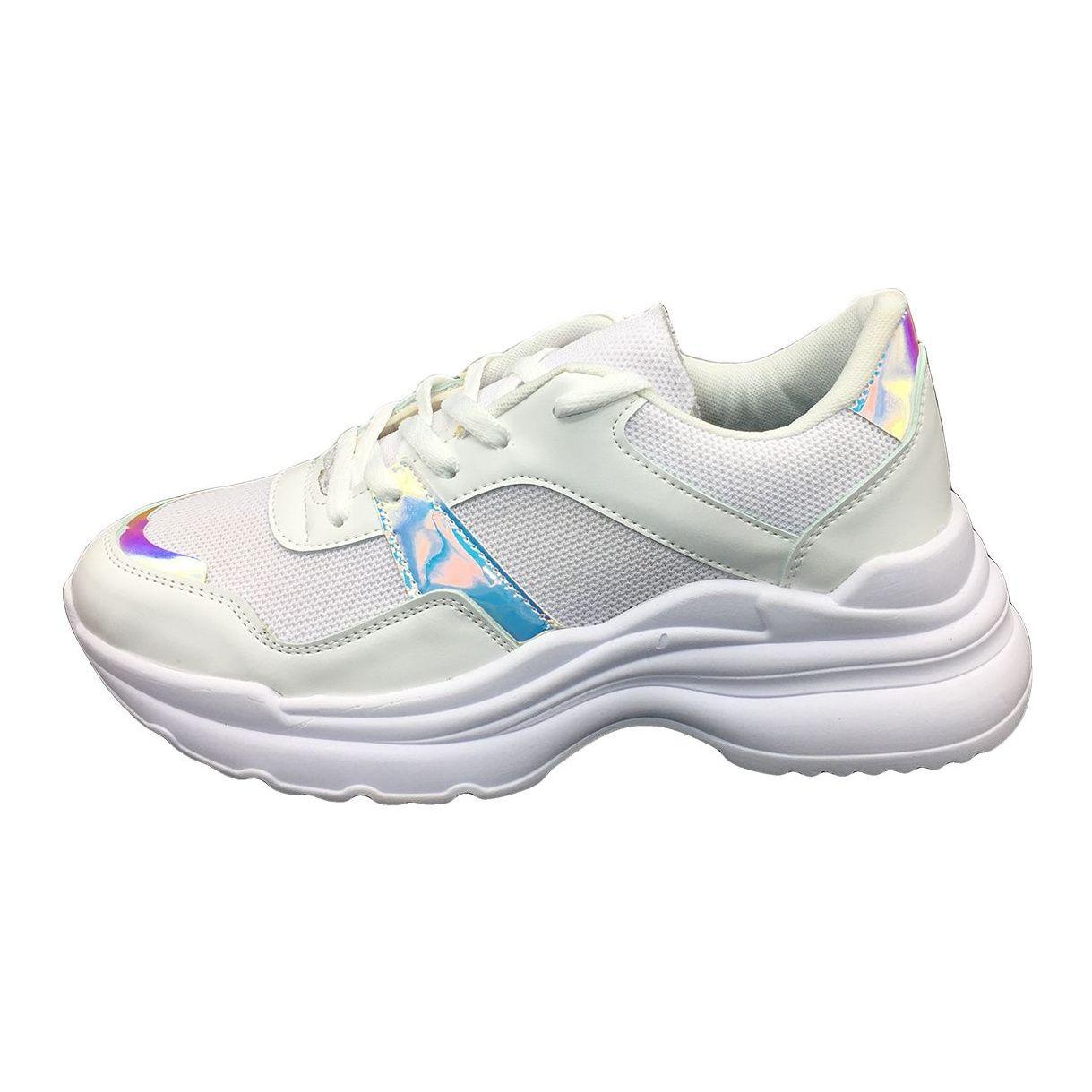 کفش مخصوص پیاده روی زنانه مدل ho 25 رنگ سفید main 1 1