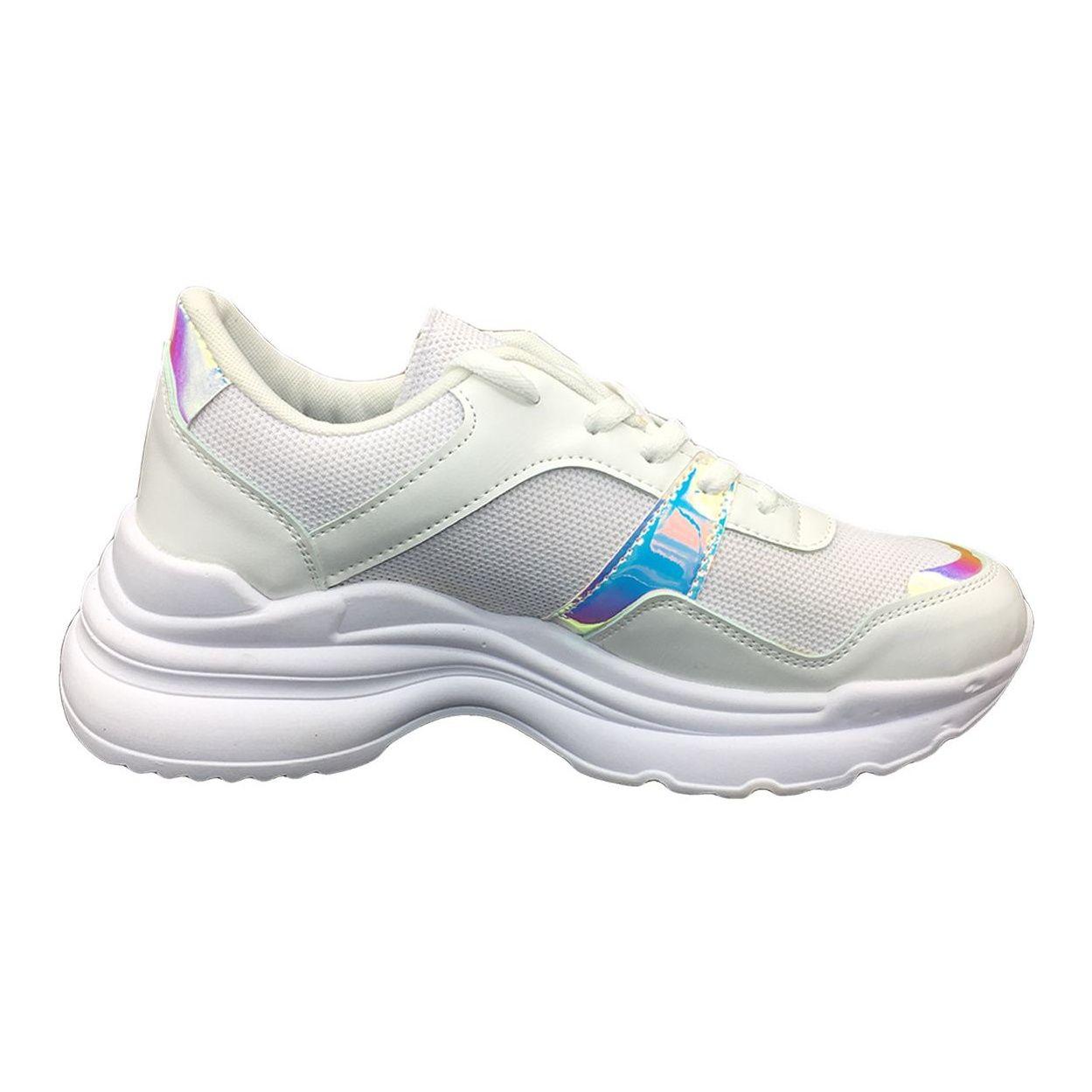 کفش مخصوص پیاده روی زنانه مدل ho 25 رنگ سفید main 1 2