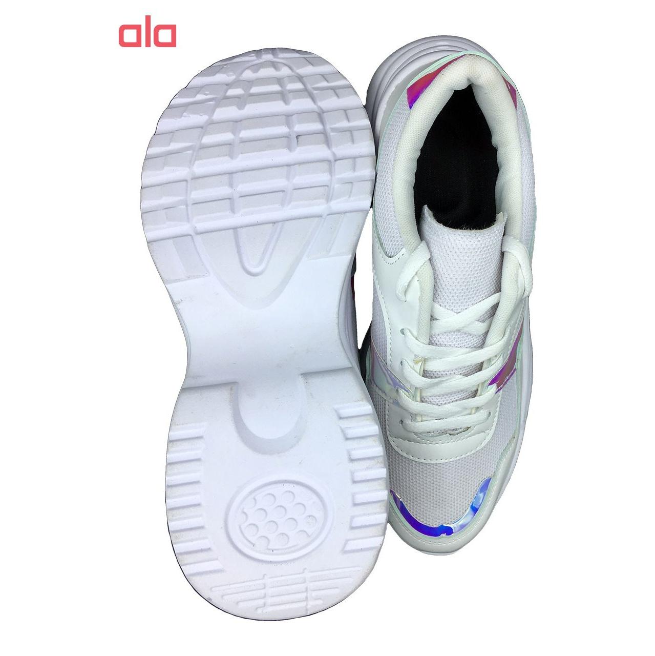 کفش مخصوص پیاده روی زنانه مدل ho 25 رنگ سفید main 1 4