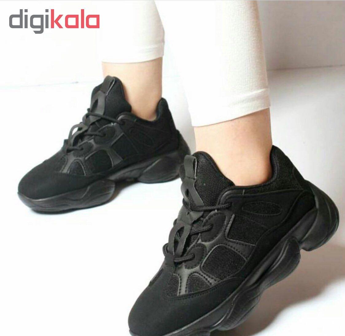 کفش راحتی زنانه مدل Yeezi 350kfsblc-01