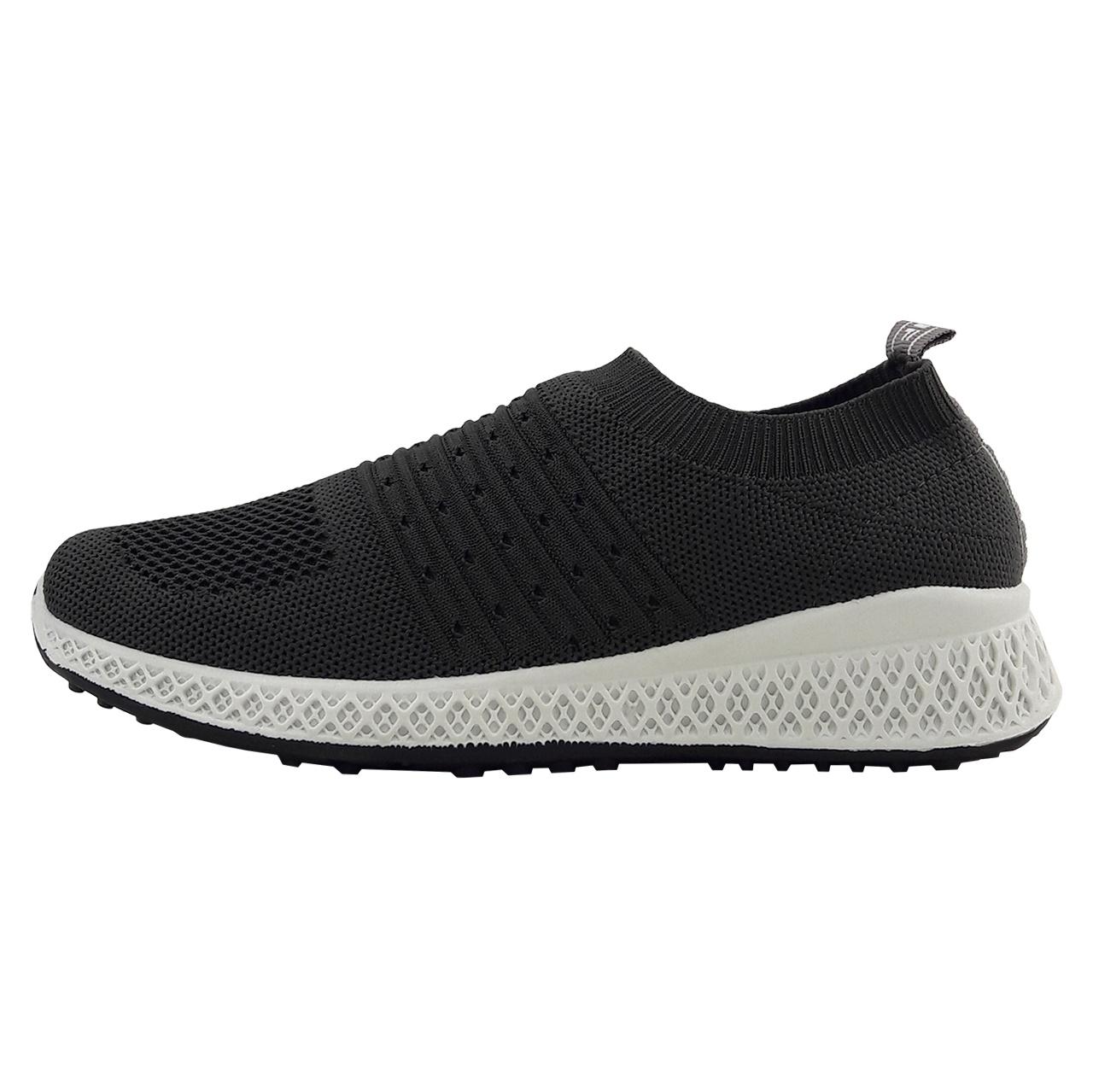 کفش راحتی زنانه مدل Fashion.comfort.bft-gry-01