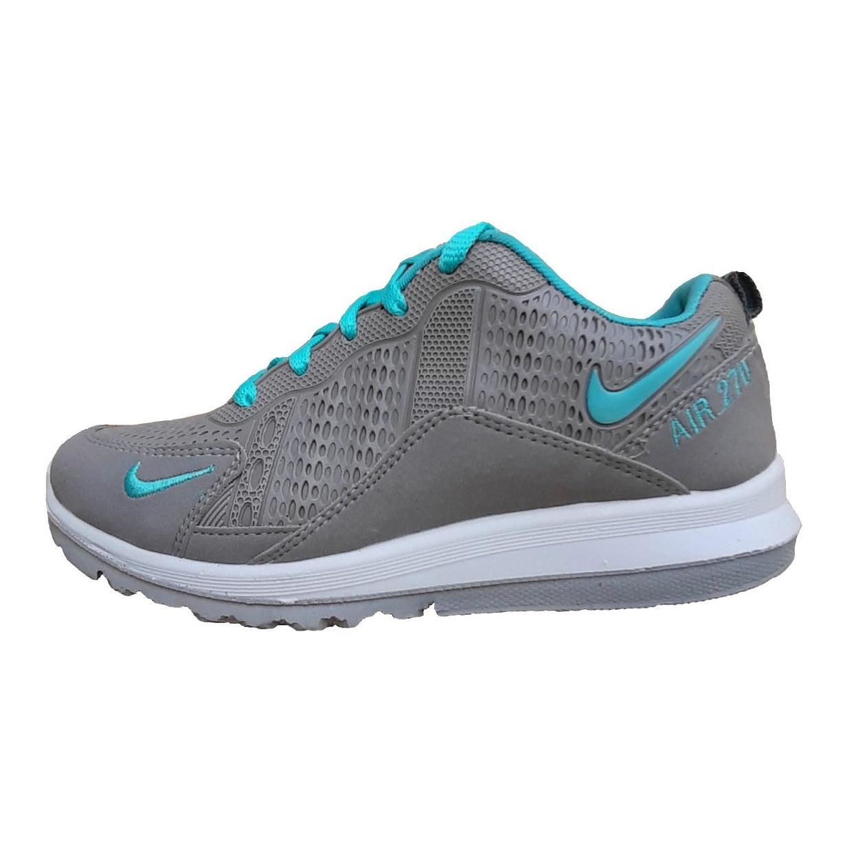 کفش مخصوص پیاده روی زنانه ایده آل کد 204015 رنگ طوسی