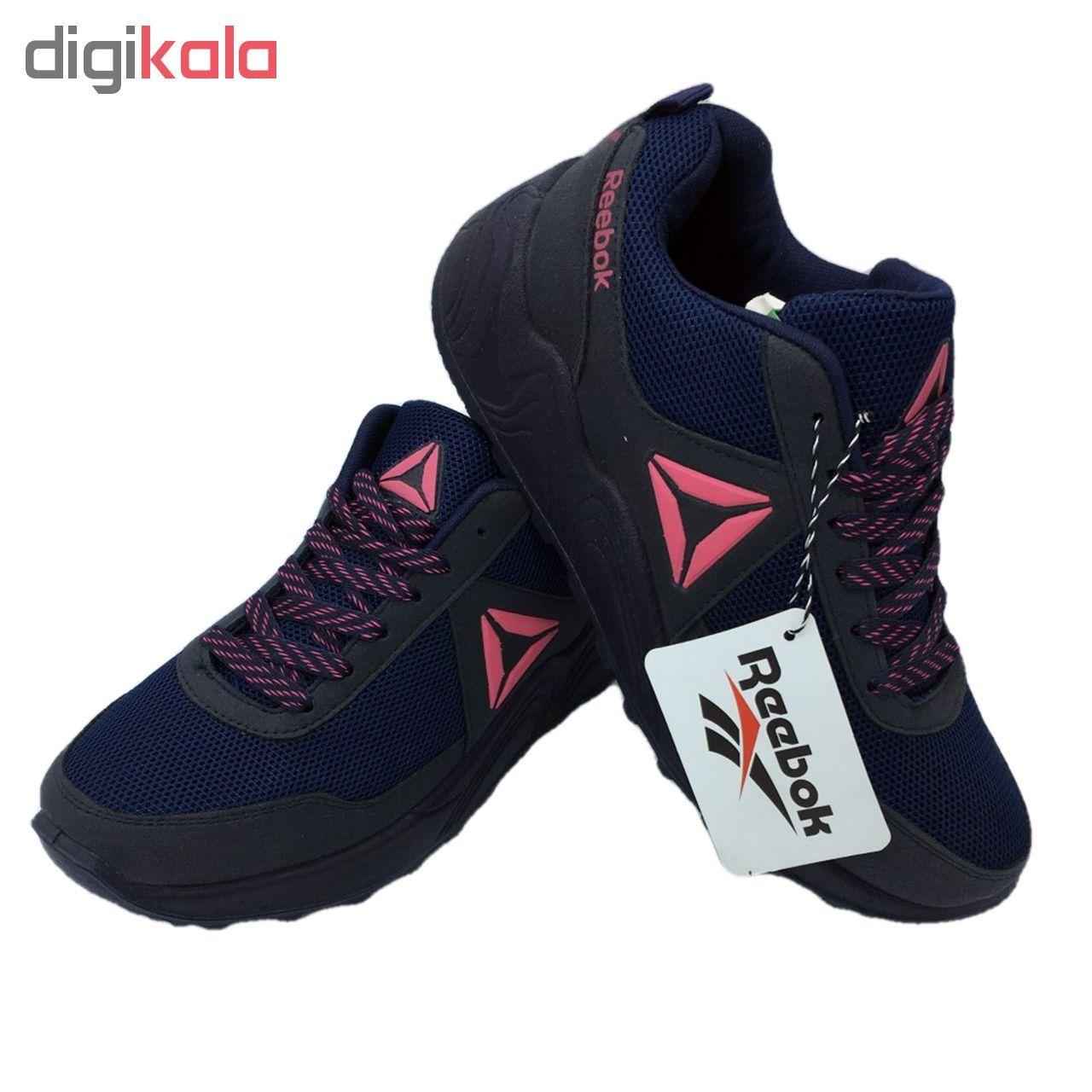 کفش مخصوص پیاده روی  زنانه مدل az -R رنگ سرمه ای main 1 2