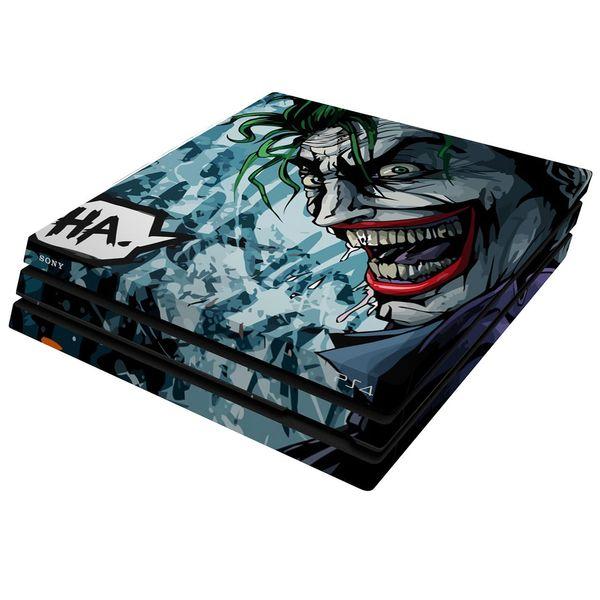برچسب افقی پلی استیشن 4 پرو ونسونی طرح Comic Joker
