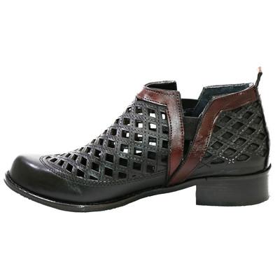 تصویر کفش زنانه ماهین چرم کد 201