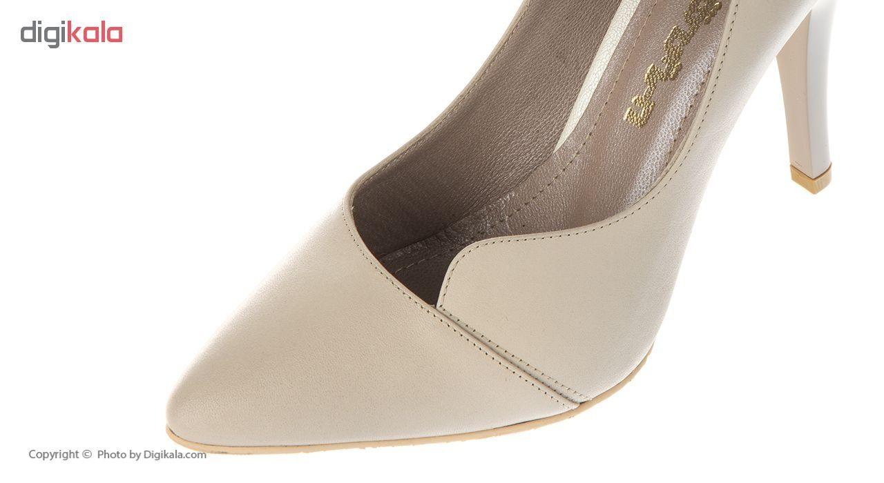 کفش زنانه چرم یاس مدل D95 main 1 5