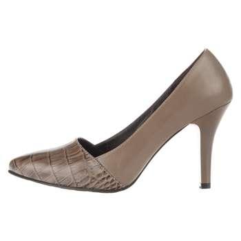 کفش زنانه چرم یاس مدل ساتا کد 0016