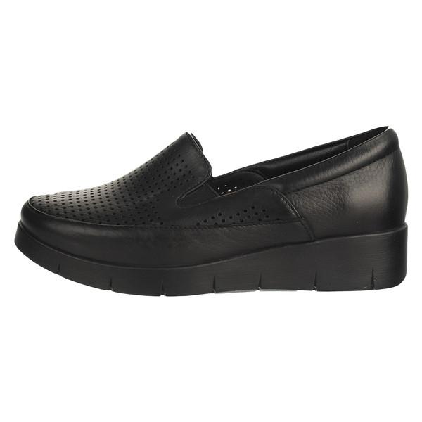 کفش طبی زنانه چرم  کد 004