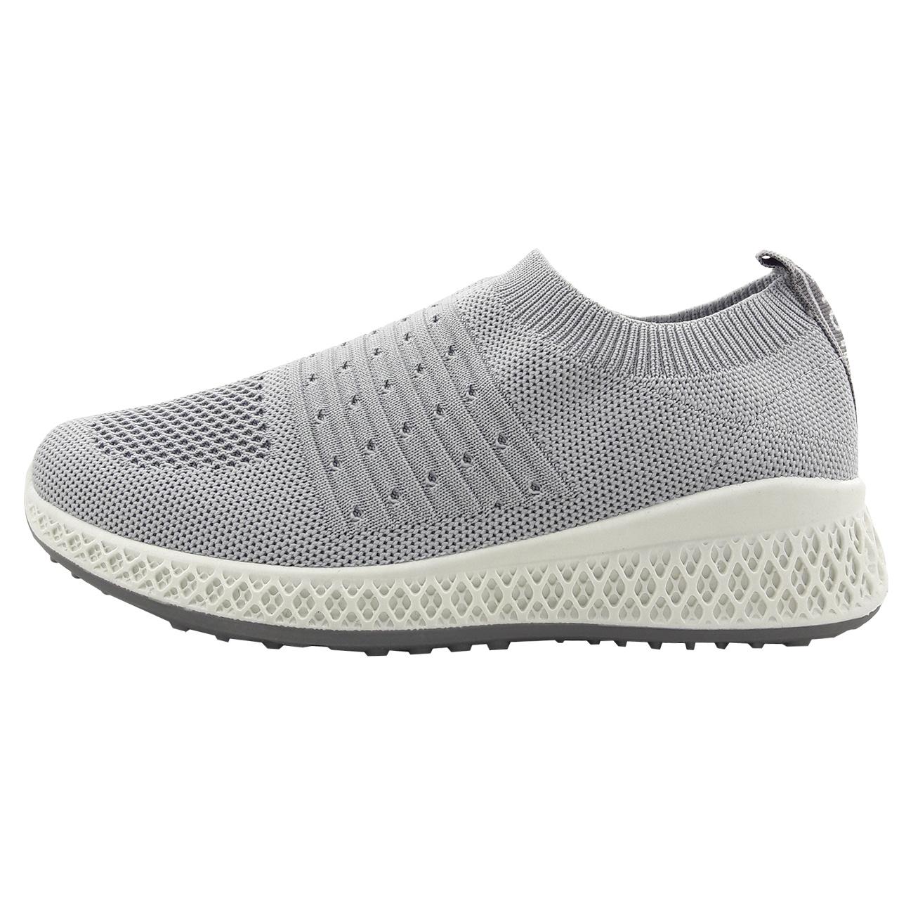 کفش راحتی زنانه مدل bft-light gry-01