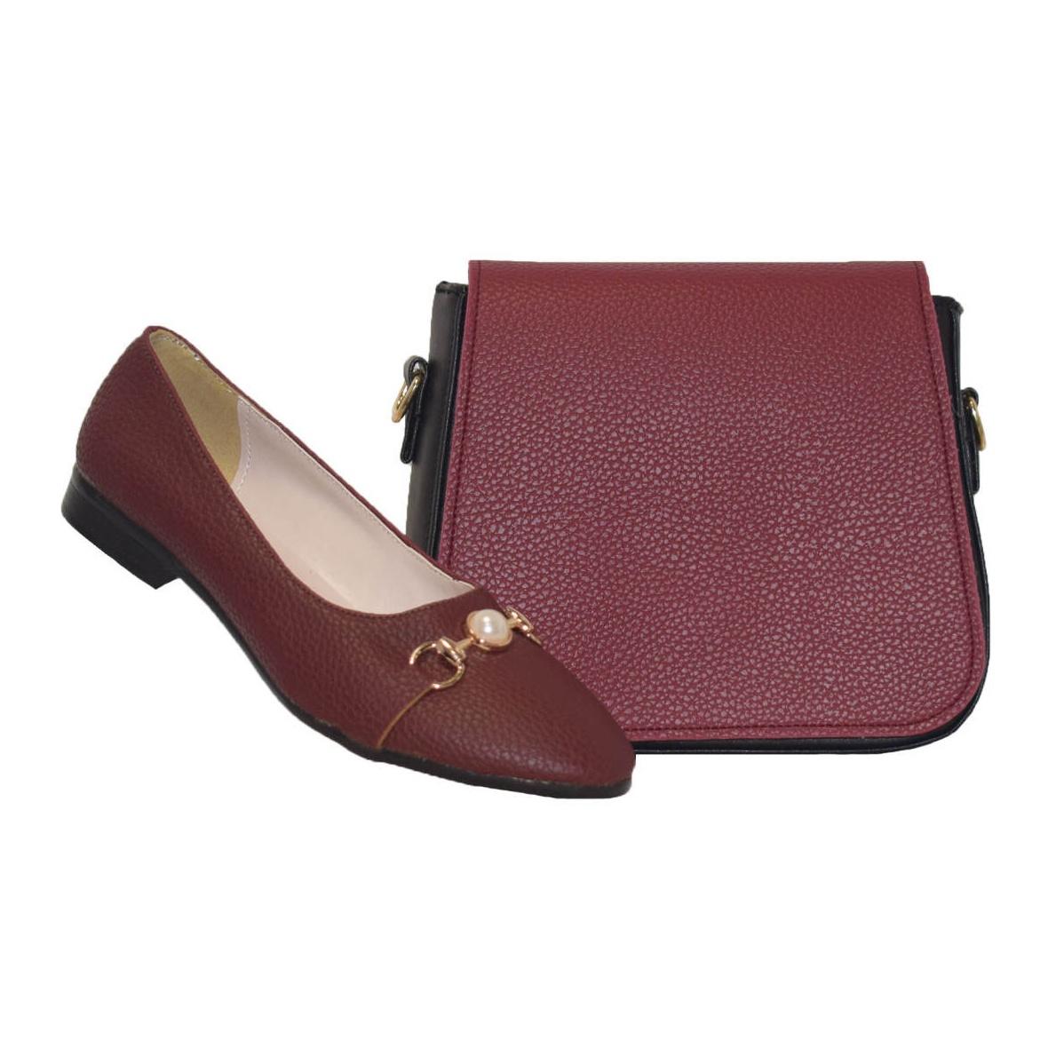 ست کیف و کفش زنانه کد SE085-23
