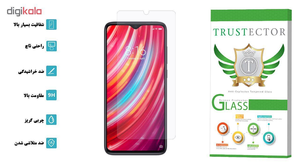 محافظ صفحه نمایش تراستکتور مدل GLS مناسب برای گوشی موبایل شیائومی Redmi Note 8 Pro main 1 2