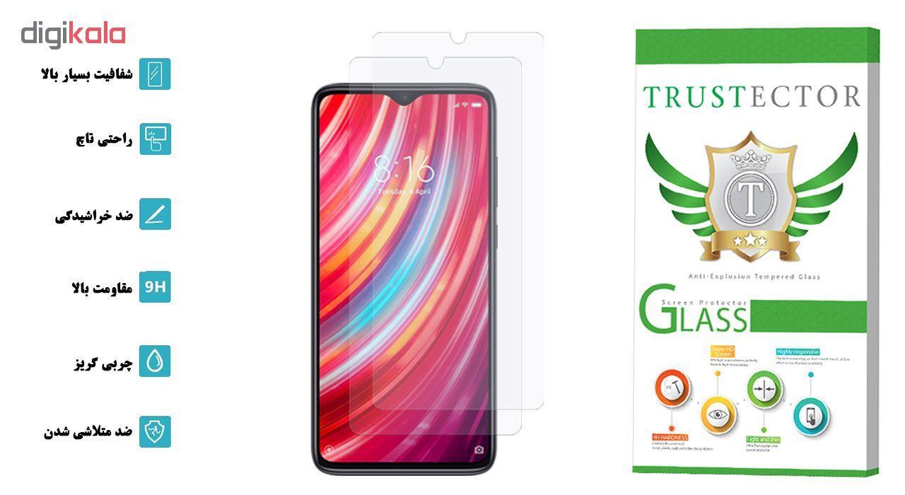 محافظ صفحه نمایش تراستکتور مدل GLS مناسب برای گوشی موبایل شیائومی Redmi Note 8 Pro بسته 2 عددی main 1 2