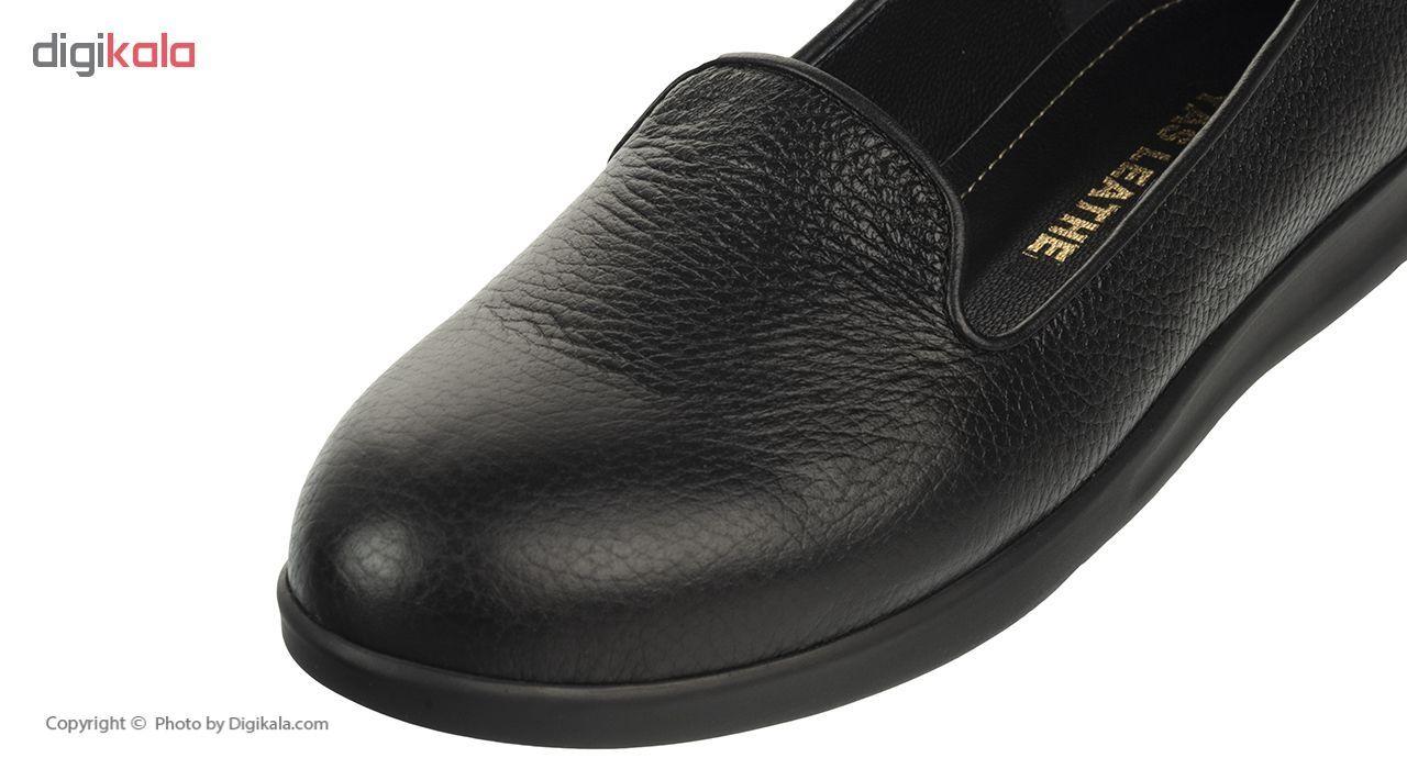کفش زنانه چرم یاس مدل 153 main 1 6