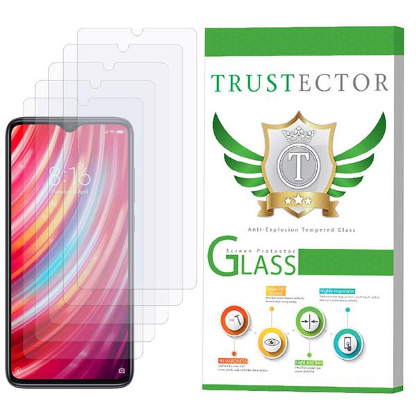 محافظ صفحه نمایش تراستکتور مدل GLS مناسب برای گوشی موبایل شیائومی Redmi Note 8 Pro بسته 5 عددی