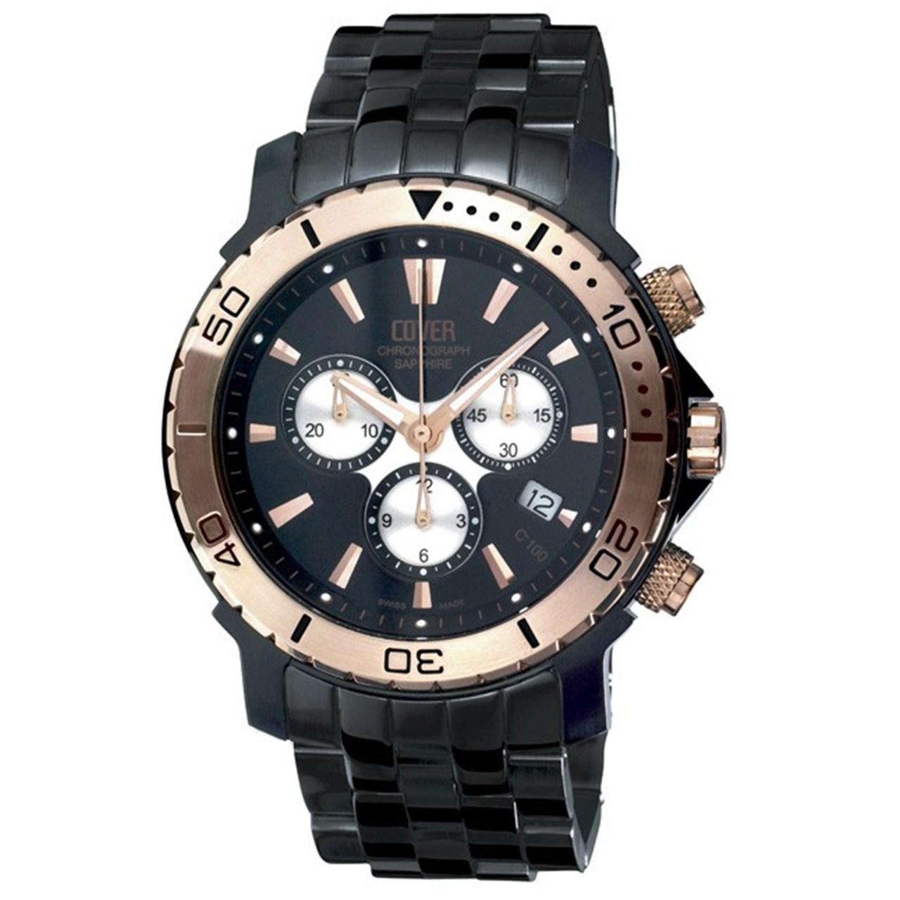ساعت مچی عقربه ای مردانه کاور مدل Co100.RPL1M