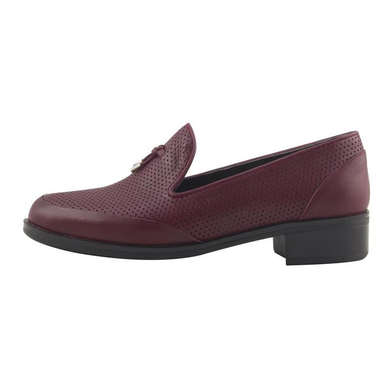 کفش روزمره زنانه مارال چرم کد 5012