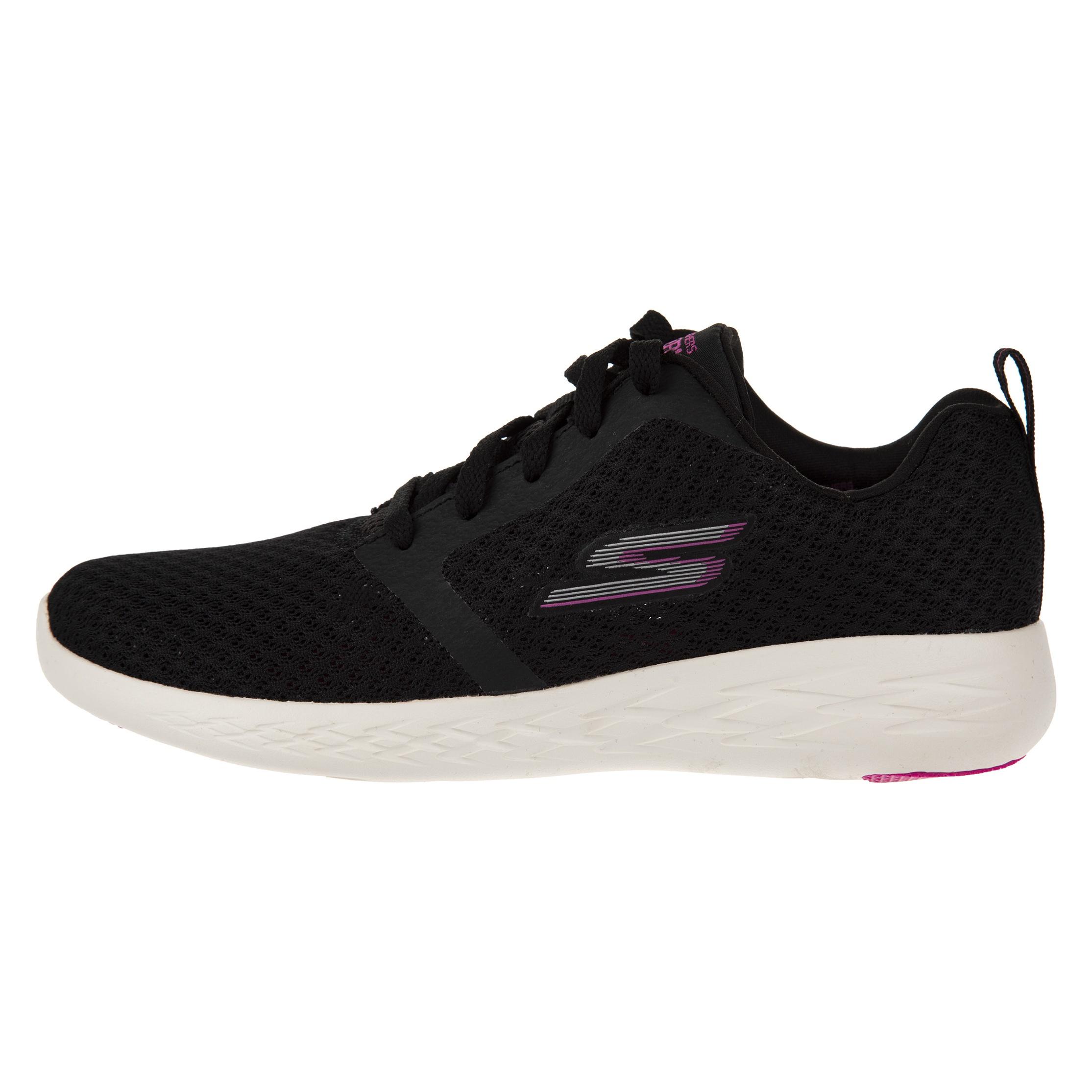 کفش دویدن زنانه اسکچرز مدل Go Run 600-BKPK