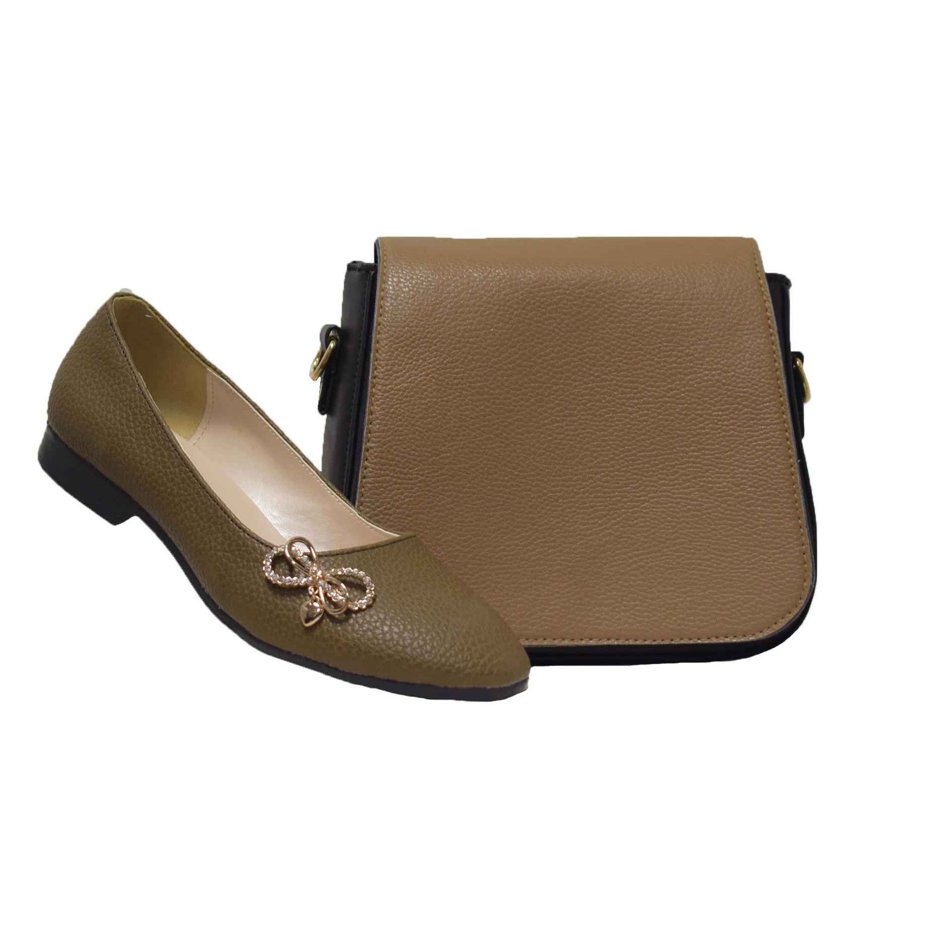 ست کیف و کفش زنانه مدل SE084-03