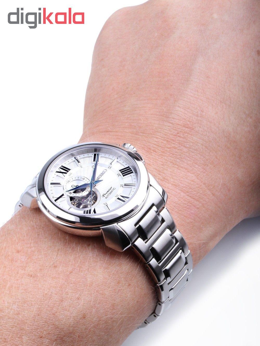 کد تخفیف                                      ساعت مچی عقربه ای مردانه سیکو مدل SSA369J1