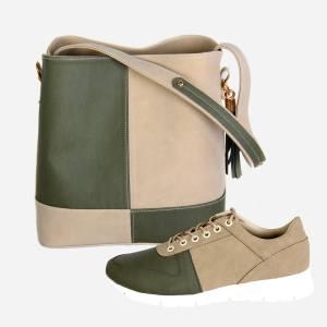 ست کیف و کفش زنانه کد 020