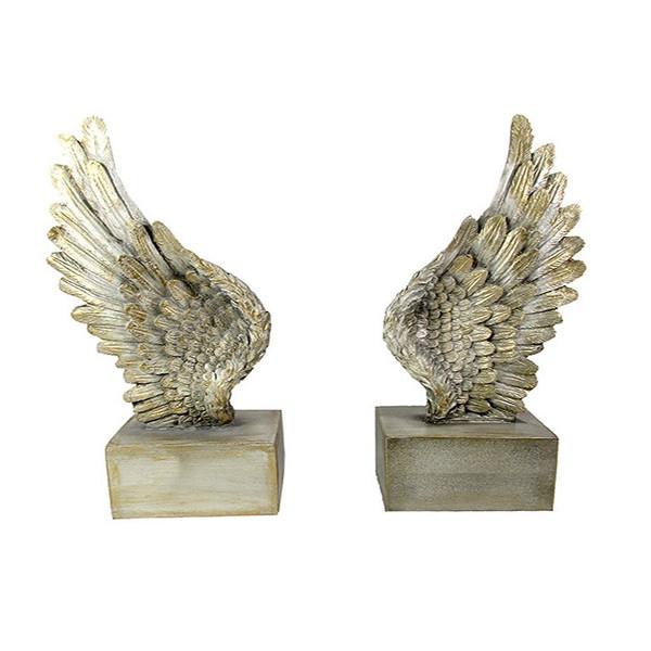 نگهدارنده کتاب طرح بال فرشته کد 133981 مجموعه 2 عددی