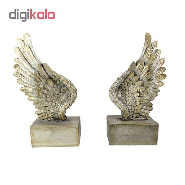 قیمت خرید نگهدارنده کتاب طرح بال فرشته کد 133981 مجموعه 2 عددی اورجینال