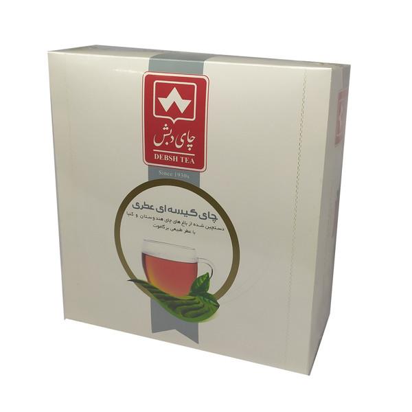 چای کیسه ای عطری دبش بسته 100 عددی