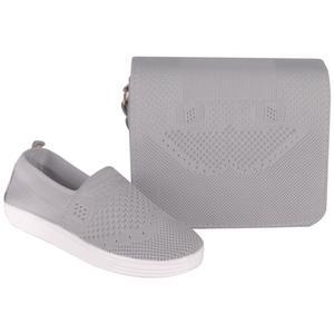 ست کیف و کفش زنانه کد BFT01-G